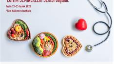 """İSÜ'den """"Online beslenme eğitimleri"""""""