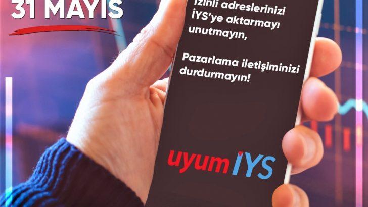 İYS'ye kayıt için son gün 31 Mayıs 2021