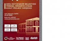 Yöresel Mimariye Uygun Konut Projesi Yarışmasına Davet